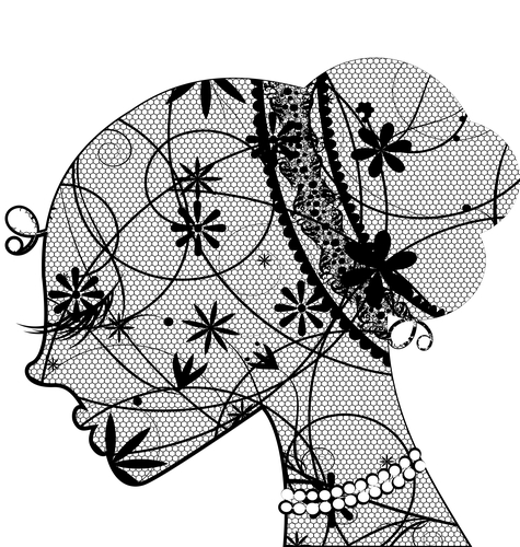 lace female head
